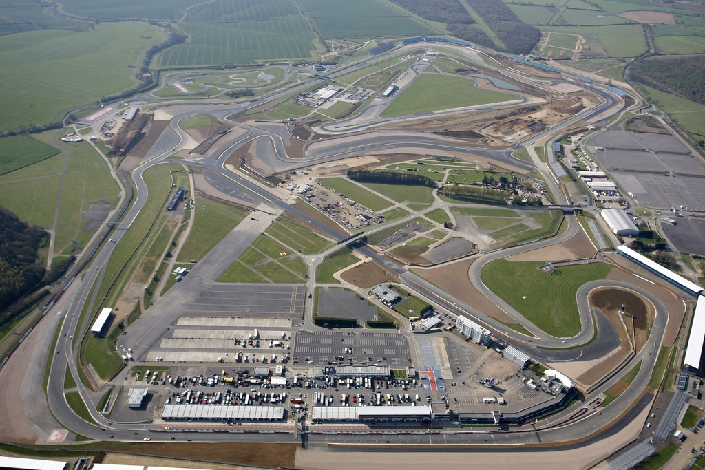 SecureFix Direct - Aerial view of Silverstone Grand Prix Circuit