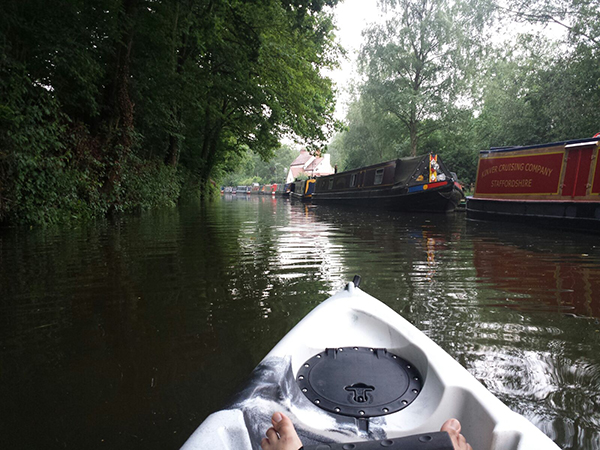 SecureFix Direct - Appreciating The Stunning Scenery On A Kayak