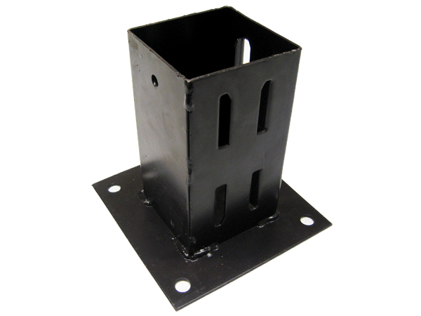 X1 4 Bolt Down Wedge Grip Fence Support 100mm Post