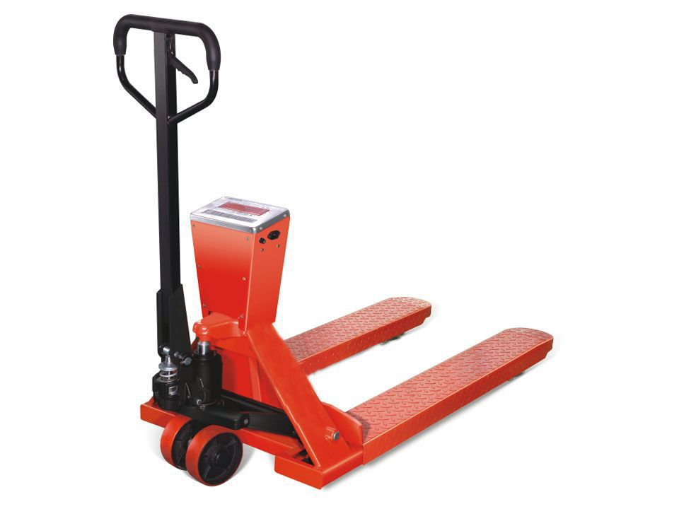 2 Ton Pallet Truck With Weigh Scale Euro 2000kg Hand