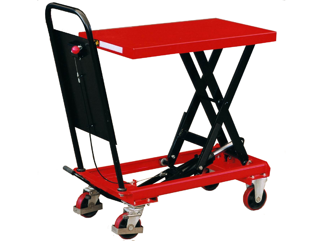 250KGS Lift Table - Lifting Trolley Bench Workshop Garage Tools ...