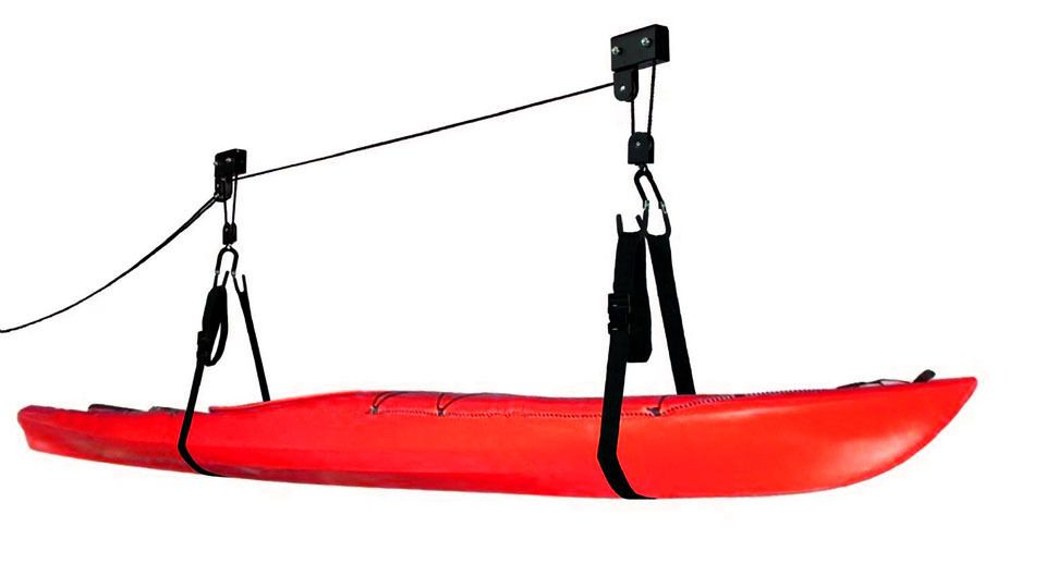 Heavy Duty Overhead Kayak & Canoe Pulley Storage Hoist 54kg