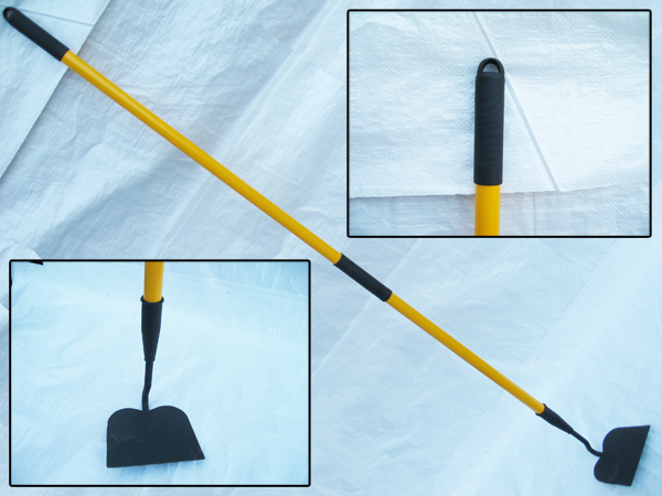 Hoe With Fibreglass Handle Draw Digging Garden Trench